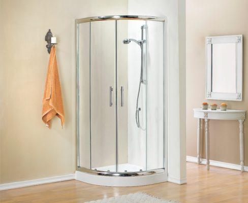 מקלחון עגול פינתי איכותי