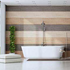 הצבע הירוק החי מוסיף כל כף הרבה לעיצוב האמבטיה שלכם